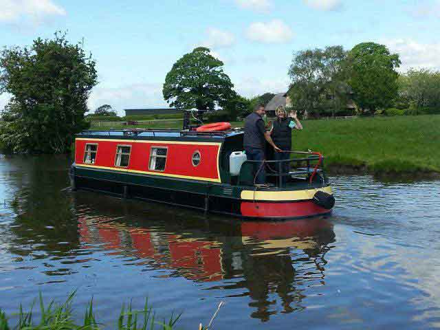 Daisy - Lancaster Canal Boat Hire Holidays