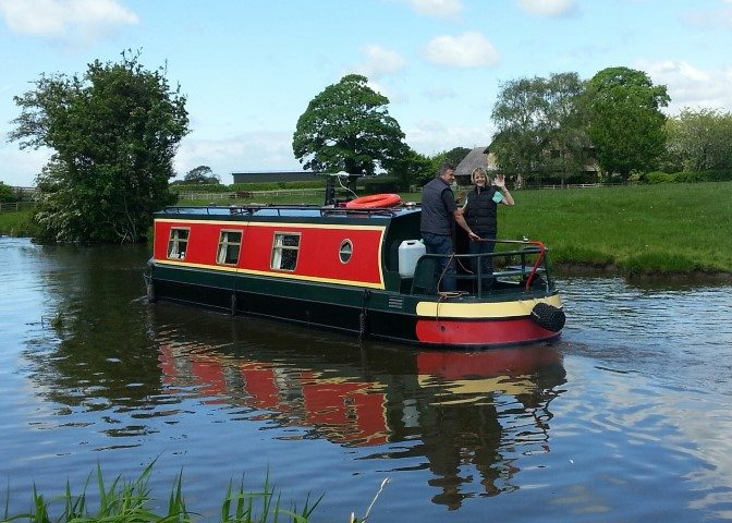 a new narrowboat for 2017 lancaster canal boat hire holidays. Black Bedroom Furniture Sets. Home Design Ideas