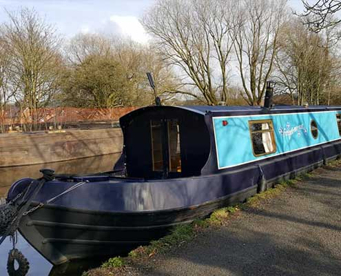 Forget Me Not Canal Boat