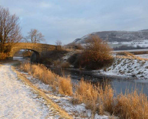 Lancaster Canal in Winter