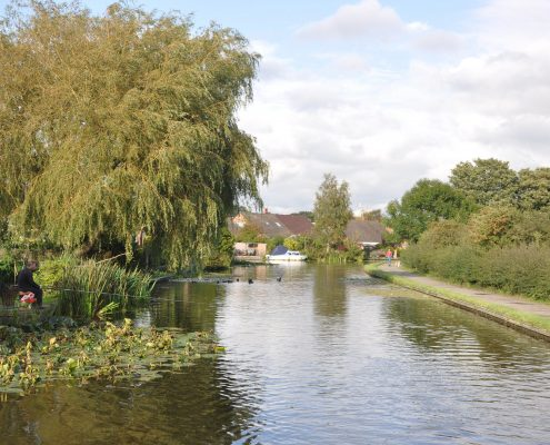 Lancaster Canal in Preston