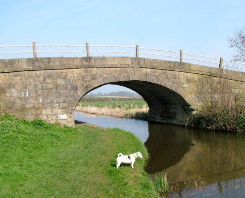 Cabus Nook Bridge Lancaster Canal