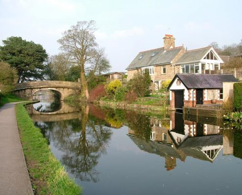 Haverbreaks Bridge Lancaster Canal