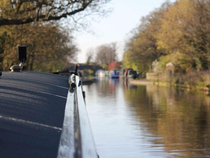 Lancaster Canal approaching Garstang